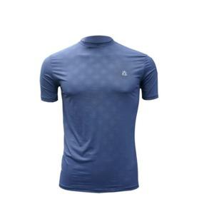 냉감 쿨티셔츠 UV항균항습완벽차단남성용(반팔)네이비
