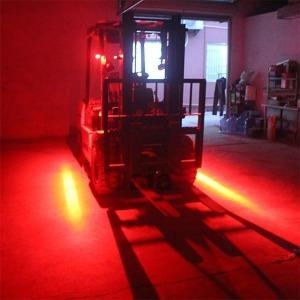 지게차 안전선 LED 레이저빔 LED 언더바 후진등 안전