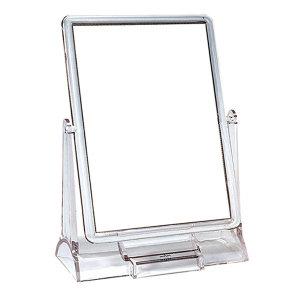 투명 사각 탁상거울(빅사이즈)/화장거울/큰거울선물