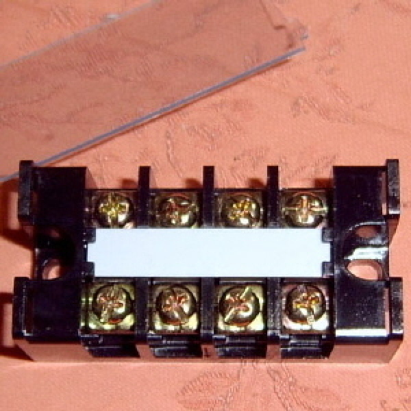 터미널 블록 고정식 단자대 3핀 4핀 6핀 블럭 배선 정리