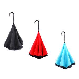 반대로우산 장 우산 긴우산 반전 대형 골프 거꾸로