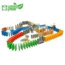 도미노 원목 어린이 유아 3세이상 200조각 장난감 놀