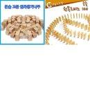 쌓기나무 원목교구 교육 완구 유아 도미노 칼라 영유