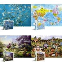 직소퍼즐 1000조각 취미용 선물 놀이 천조각 포스터