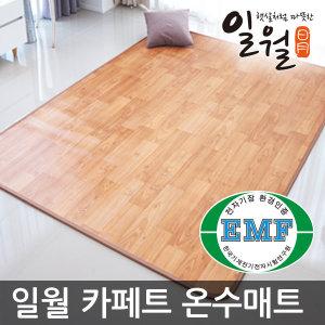 2019년형 일월 카페트 온수매트/특대형/온열매트/거실