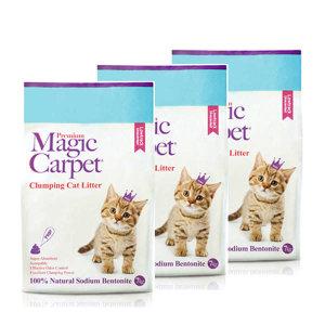(현대Hmall)먼지없는 고양이모래 매직카펫 Low Track (굵은입자) 3개셋트
