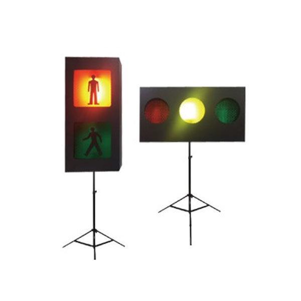 보행자 및 차량 신호등 세트 교육용