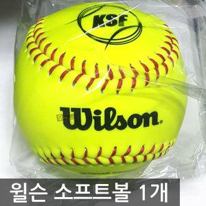 윌슨 소프트볼 WTA9117TK 야구공 1개 연식구 12인치