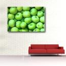 사과그림액자 초록사과액자 풍수지리액자 풋사과그림