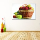 엔틱풋사과 사과그림액자 초록사과액자 풍수지리액자