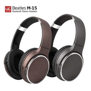 무선 블루투스헤드폰 헤드셋 / 비틀즈 M-15 (브라운)