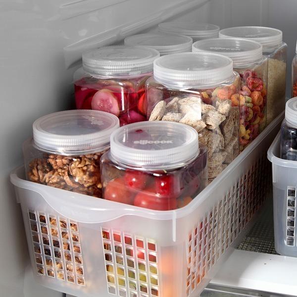 실리쿡 냉장고수납 트레이 3개세트