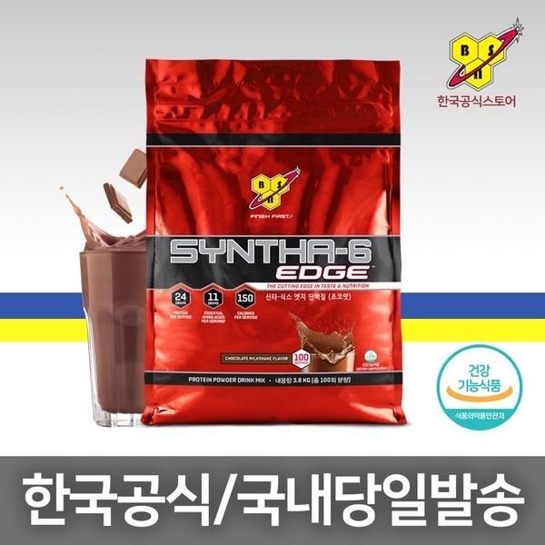 신타6엣지 초코 3.8kg/단백질헬스보충제/근육 100회분