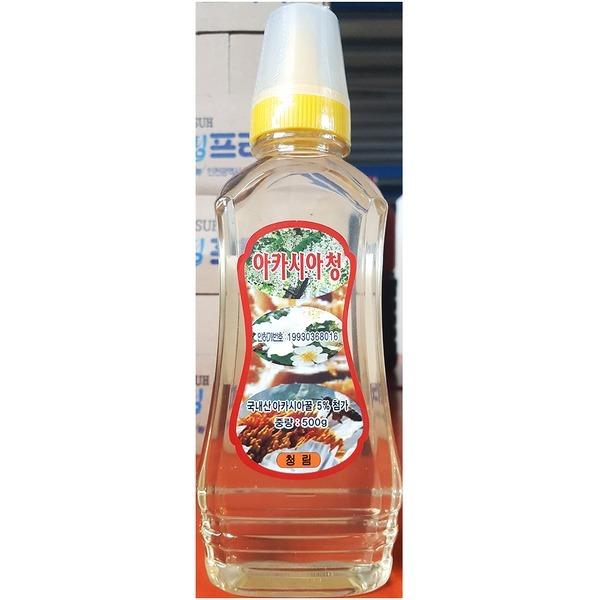 아카시아꿀(청림 500g)/식당용/꿀대추차/벌꿀/헛개꿀