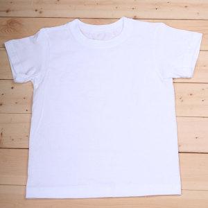 기본형흰색티셔츠(면100)/티셔츠꾸미기/티셔츠만들기/