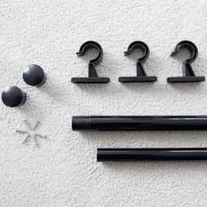 블랙봉 지름 2.5cm/최소170cm~최대300cm