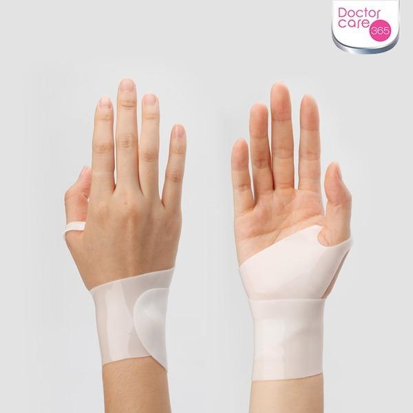 닥터케어 신형 실리콘 손목보호대/통증/물세척