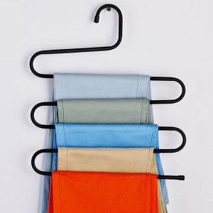 5단 논슬립옷걸이 바지걸이 벽걸이옷걸이 옷장정리