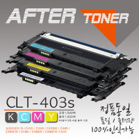 삼성 SL-C436W에 사용하는 재생토너 CLT-K403S
