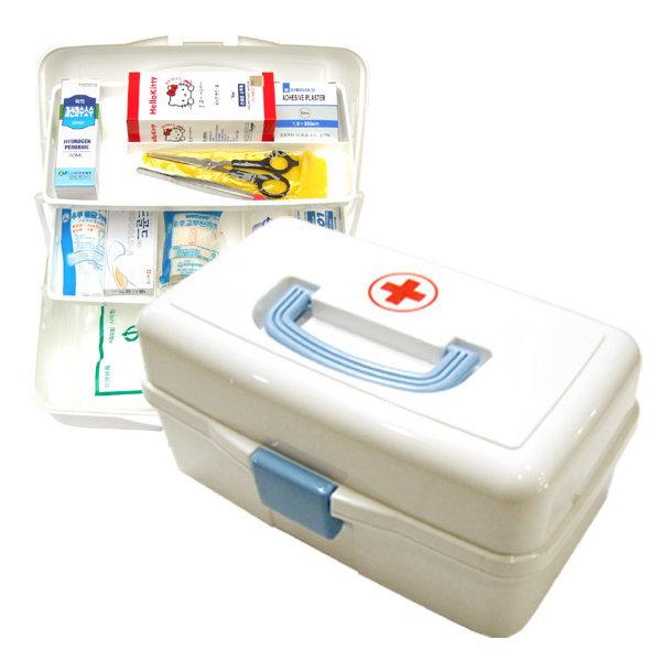 스피드 3단 구급함 대형 응급함 구급상자 약상자 약통