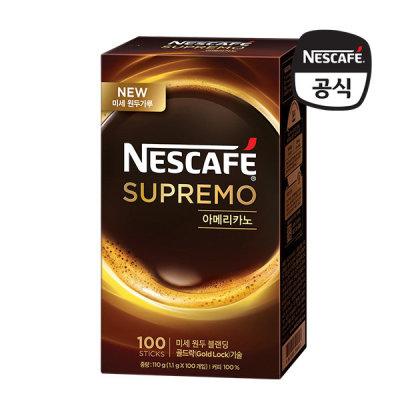 [네스까페] 네스카페 수프리모 아메리카노/스위트100T