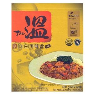 (더온플러스 카레밥) 비상식량/전투식량/간편식/참맛