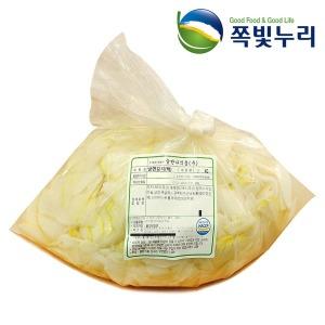 냉면김치 냉면 백김치 3kg 대용량 HACCP가공