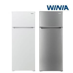 인증 위니아 중형냉장고 WRT212AW/WRT212AS 208L