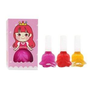 유아 매니큐어 핑키페인트 어린이 수성 아동 네일 3+1