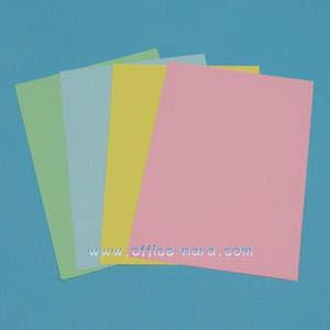 색지 A4/칼라복사용지 A4/80g/500매/고급스런 파스텔톤컬러색상지/4가지색상