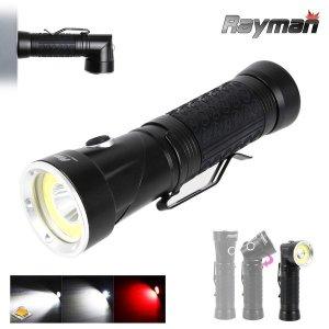 (레이맨) 레이맨 RM3003 L2+COB LED 랜턴 손전등 작업등 자석