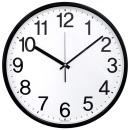심플넘버36cm무소음벽시계 블랙 빅사이즈 대형벽시계