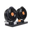 차량용 선풍기 24V /카선풍기 트윈팬 자동차선풍기