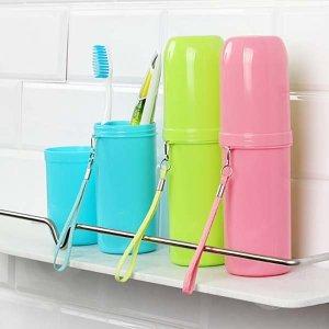 청은차90g 컵 원통형케이스 치약칫솔세트 도매1545090