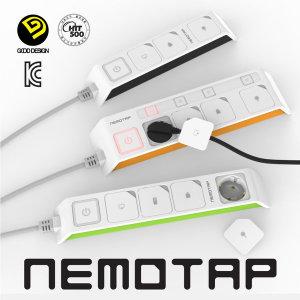 네모탭 NEMOTAP 일반형 3구 SY-NA3 국내제조 멀티탭
