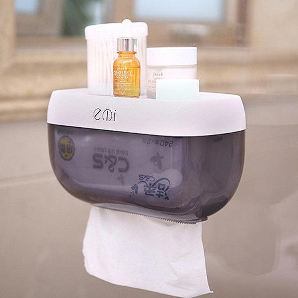 멀티렉 다목적 방수 휴지걸이 욕실선반 방수커버