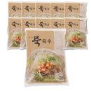 맛있는 묵육수 310gx10개-도토리묵밥 도토리묵 냉육수
