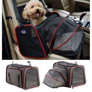 펫츠핏 확장 캐리어 강아지 이동 가방 기내용