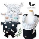 오가닉 아기 침받이 아기띠 힙시트 워머망토 유아용품