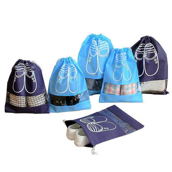 여행용 신발 주머니 가방 다용도 휴대용 파우치