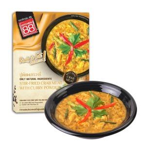 홈쿡 푸팟퐁커리 게살 카레 태국음식 3분요리 - 상품 이미지