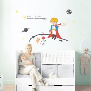 인테리어 포인트스티커 벽지 IP723-어린왕자