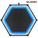 바투정품 점핑팰리스-블루 6각 트램폴린 성인다이어트