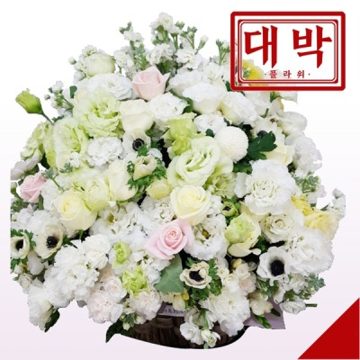 웨딩드레스 꽃바구니 생일 기념일 출산 병문안 꽃배달