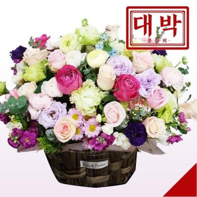 파스텔러브 꽃바구니 생일 기념일 출산 병문안 꽃배달
