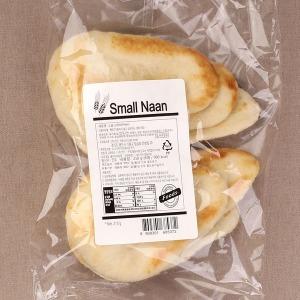 스몰난/210g/6매/인도빵 /커리/피자/선인/도우/naan