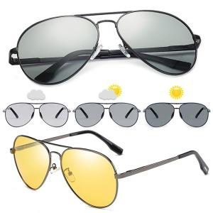 변색 편광 선글라스 보잉썬글라스 급속변색렌즈  P2018