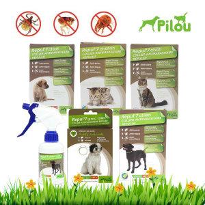 필루 강아지 고양이 해충방지목걸이/외부기생충예방