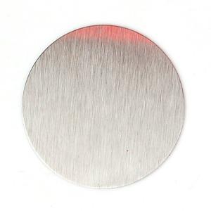 조각철판-원형 40mm / 자석용철판 자석 조각 철판
