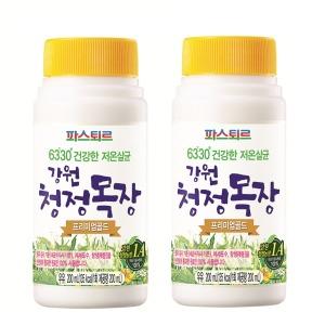 강원청정목장 프리미엄골드우유 200ml 10개 저온살균